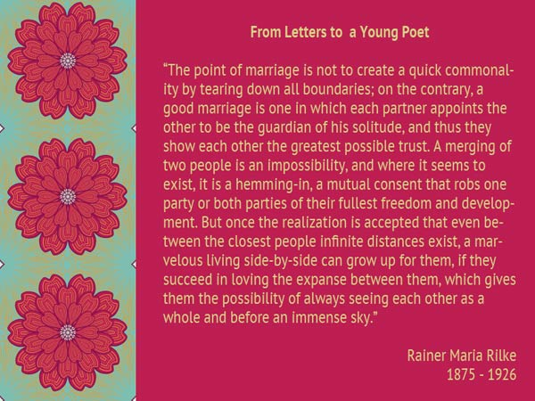 Marriage Rilke