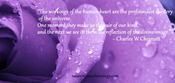 Mystery of the human heart