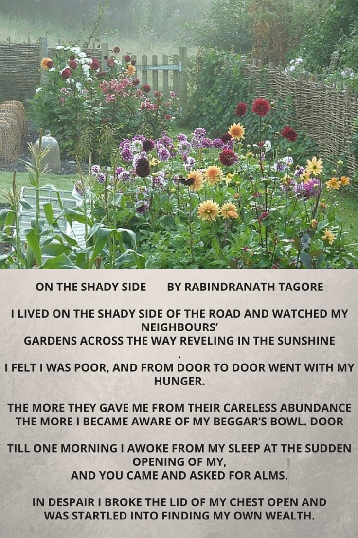 On the Shady Side Tagore